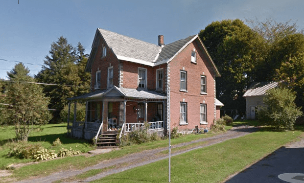 Save this old house ~ 1880 NY brick home $40k