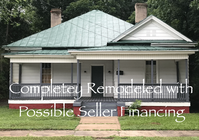 NC possible owner financing