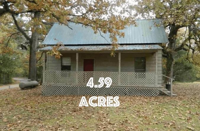 house on acreage