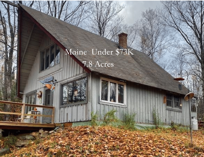 Maine cabin for sale