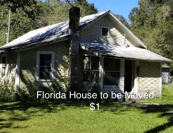 house to be moved