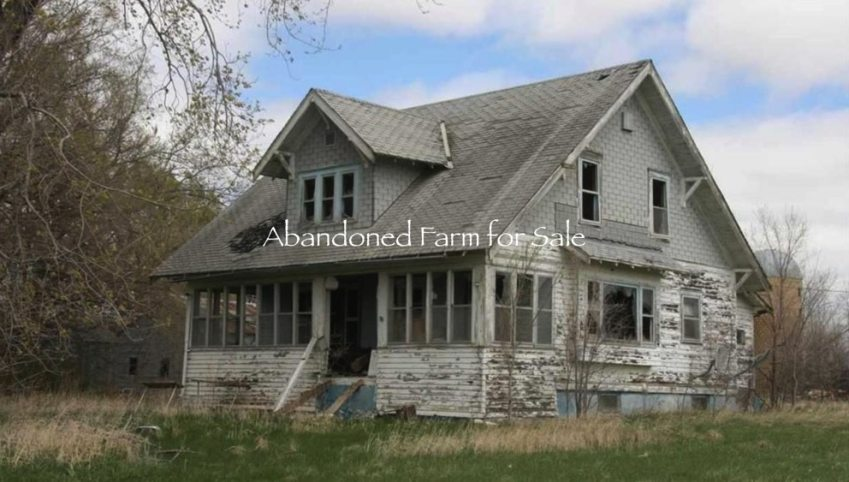 abandoned farm for sale