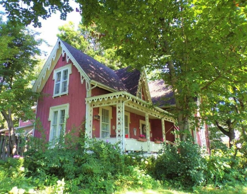 Gothic revival home for sale