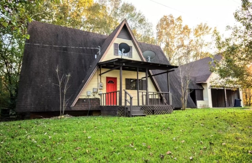 a-frame home for sale