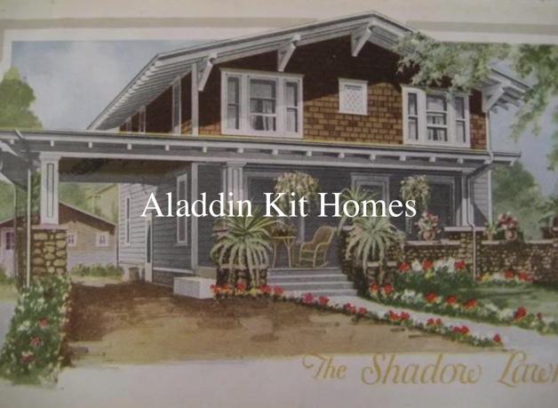 Aladdin Kit Homes