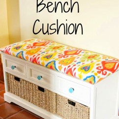Sewing Patterns For Patio Chair Cushions Costco Tommy Bahama Beach Diy No Sew Bench Cushion