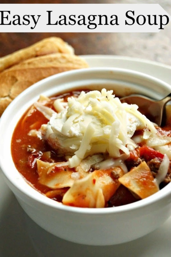 10 Amazing and Simple Soups for Winter! #soup #recipe #roundup #wintermeals
