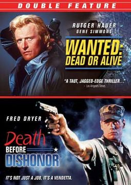 Wanted Dead Or Alive Death Before Dishonor Dvd 1986