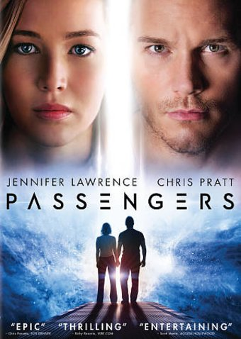Passengers Dvd 2016 Starring Chris Pratt Jennifer