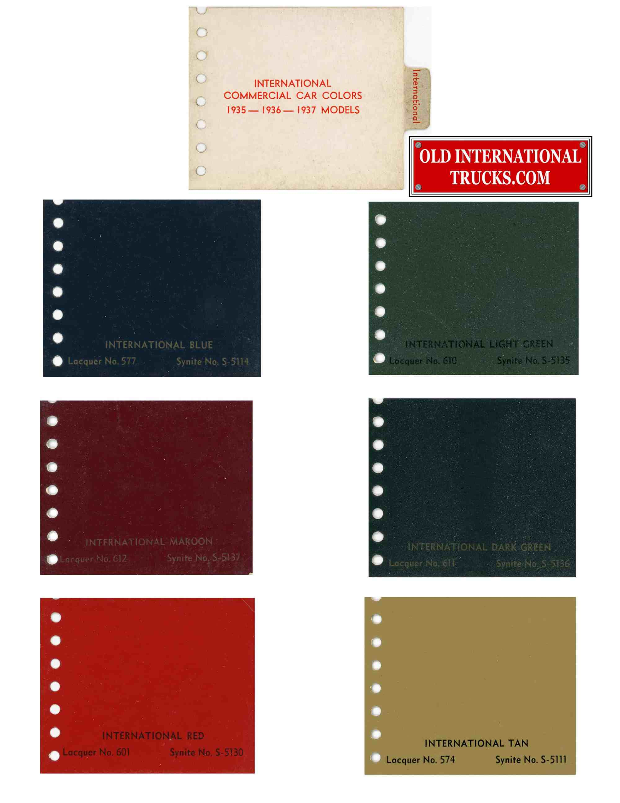 hight resolution of 1939 color chart