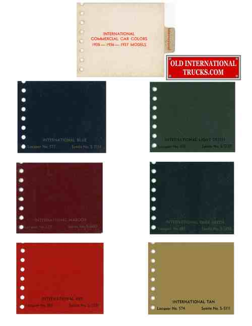 small resolution of 1939 color chart