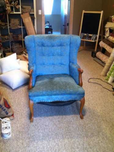 green chair #2
