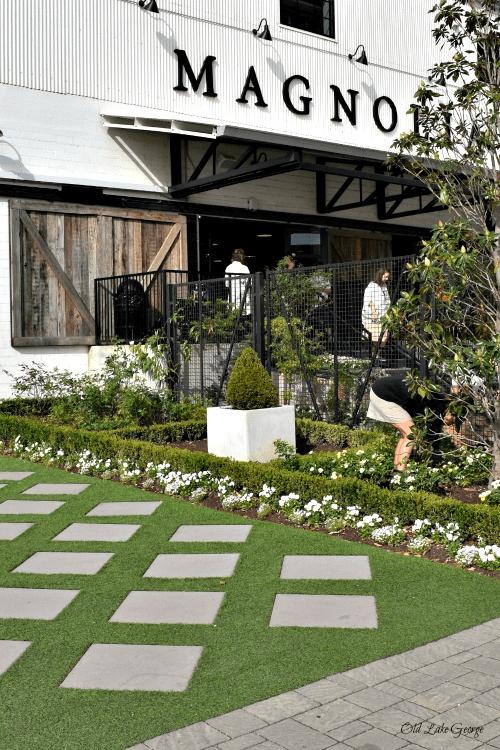Outside Magnolia shop