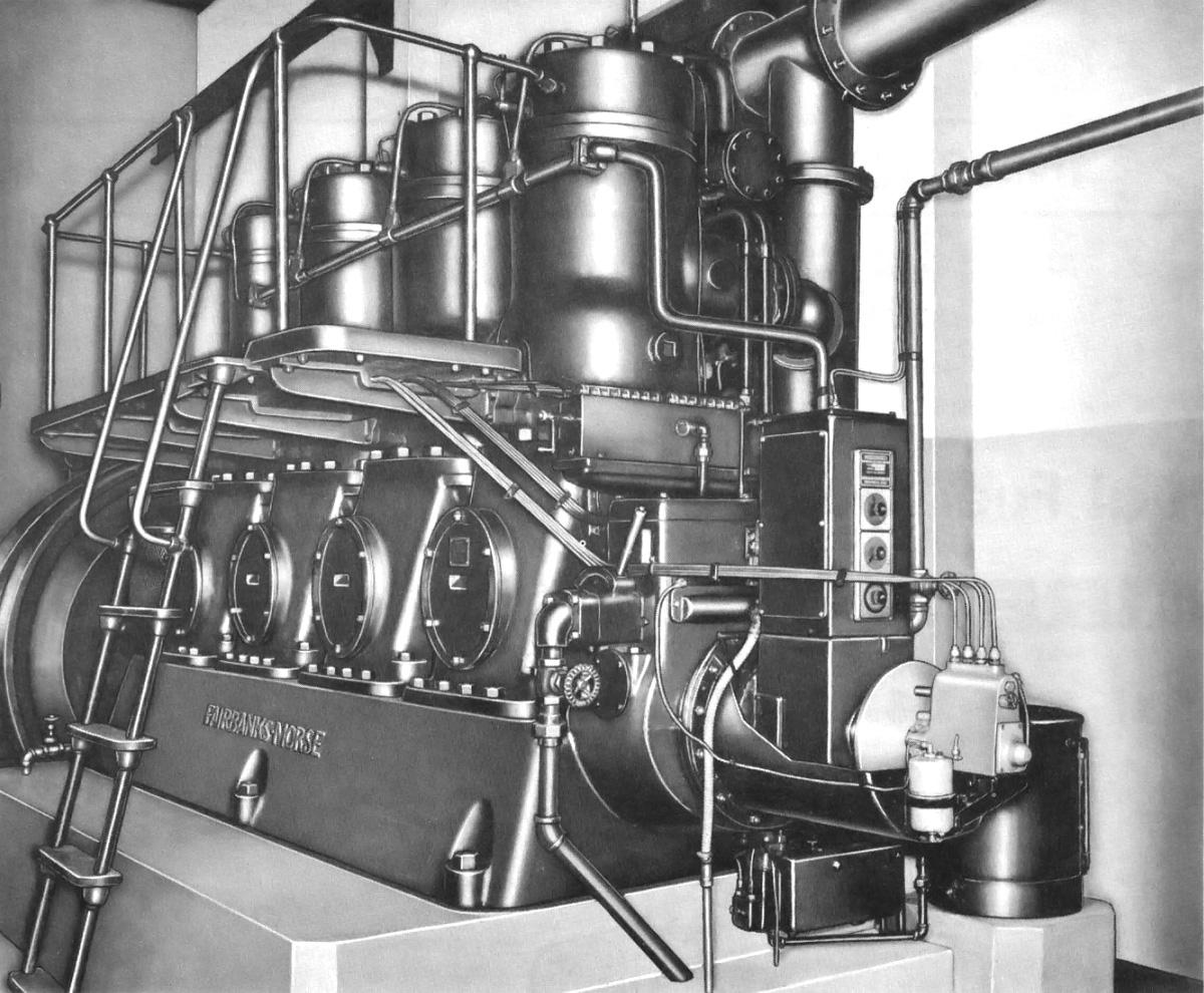 Fairbanks Morse Diesel Generator