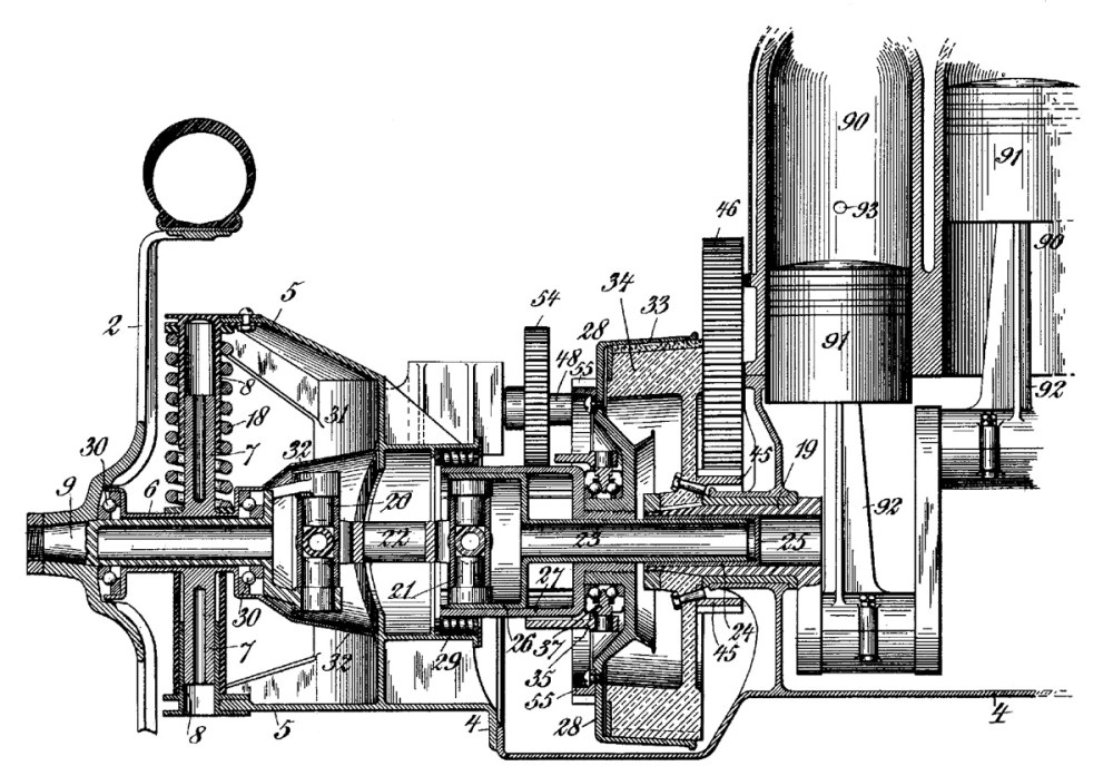 medium resolution of christie 1904 patent drive