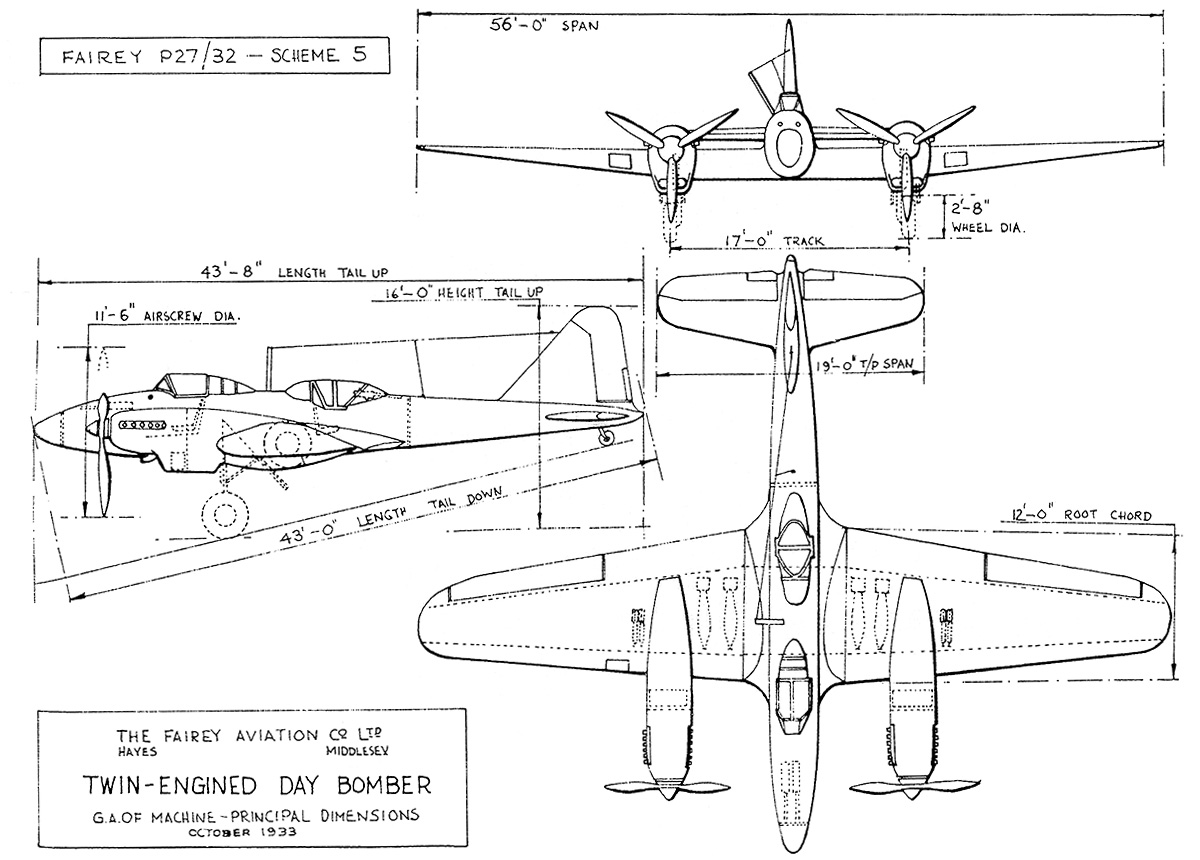 hight resolution of fac s proposal to specification p27 32 included two twin engine aircraft powered by p 12 prince engines the air ministry wanted a single engine aircraft
