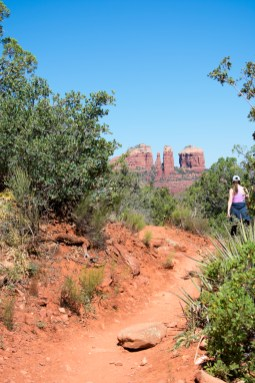 Sedona Courthouse Butte Trail Hiking Arizona