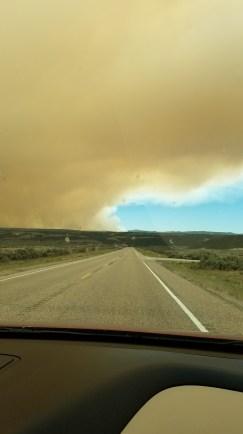 Smokey Bryce Canyon Wildfire