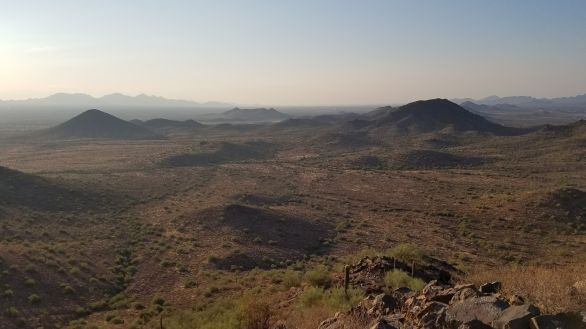 Desert Vista Trail Phoenix Arizona Hiking Rusty Ward