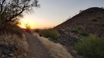 Desert Vista Trail Phoenix Arizona Hiking