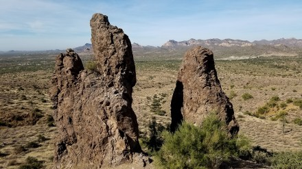 Lost Dutchman State Park Arizona Hiking Rusty Ward