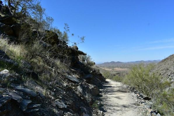 Hiking Arizona Overton Trail Rusty Ward Cave Creek