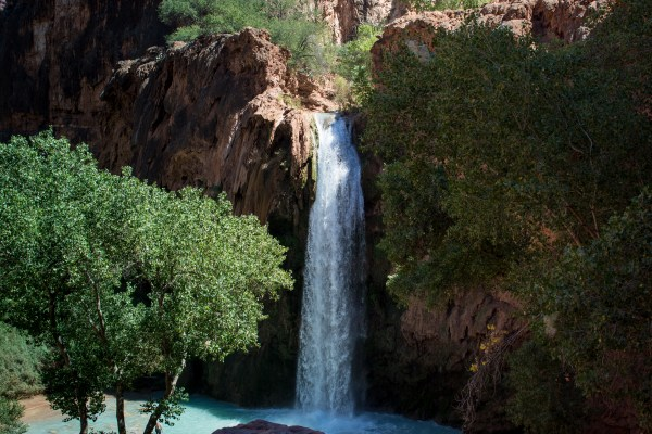 Havasu Falls Arizona Rusty Ward Hiking