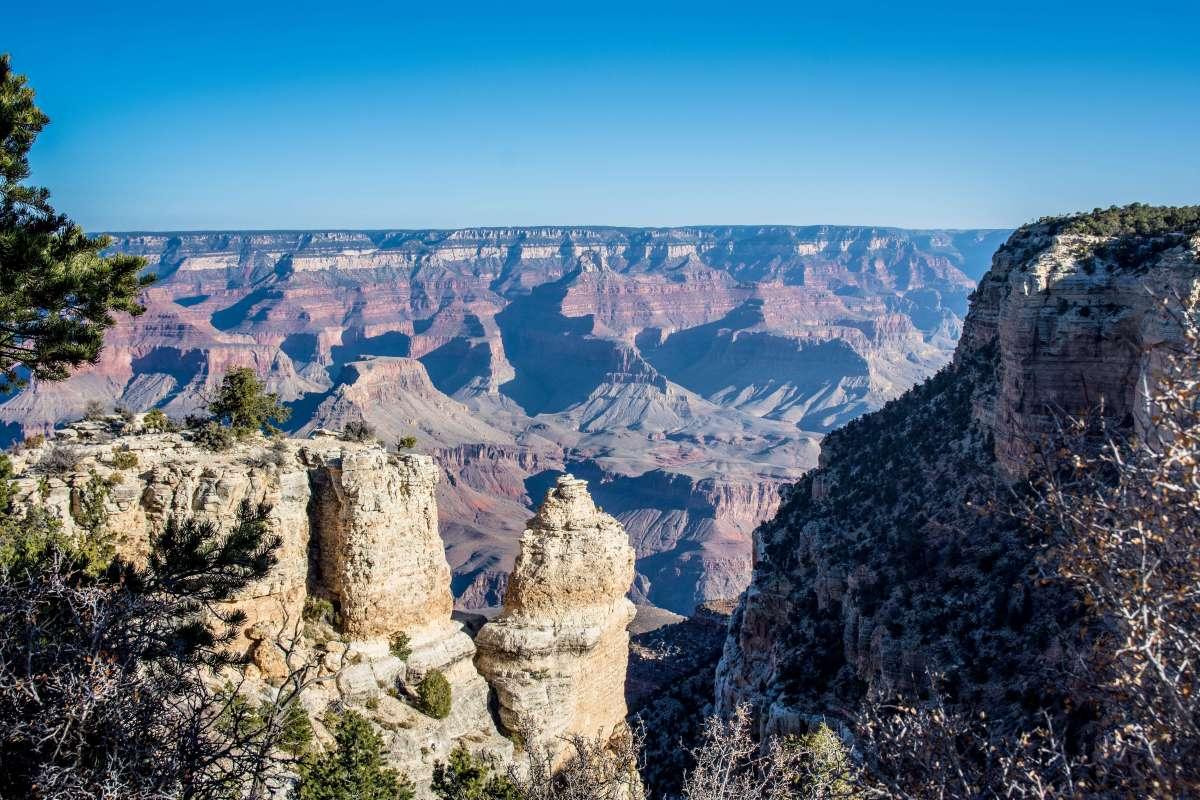 Grand Canyon Hiking Arizona Rusty Ward