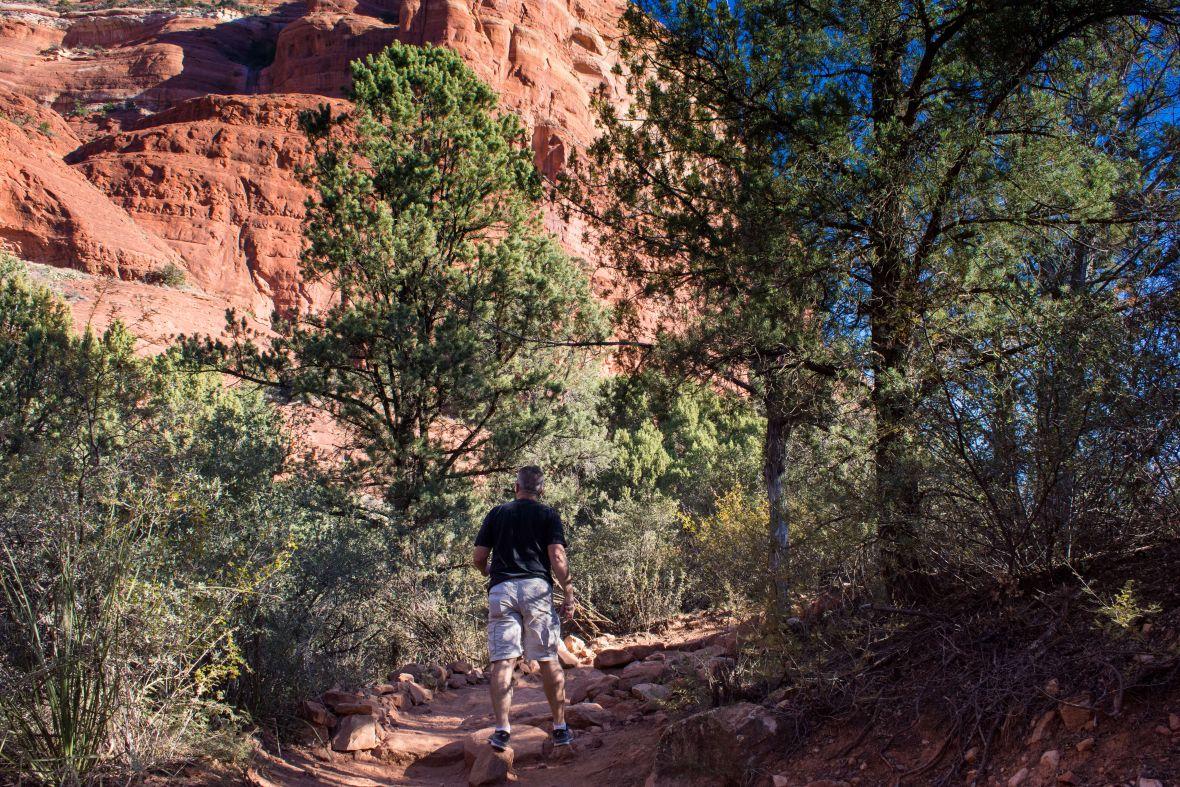 Sedona Arizona Couthouse Butte Rusty Ward