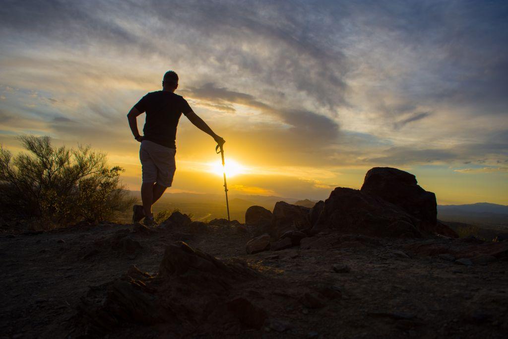 Apache Wash Sunset Hike Ariozona