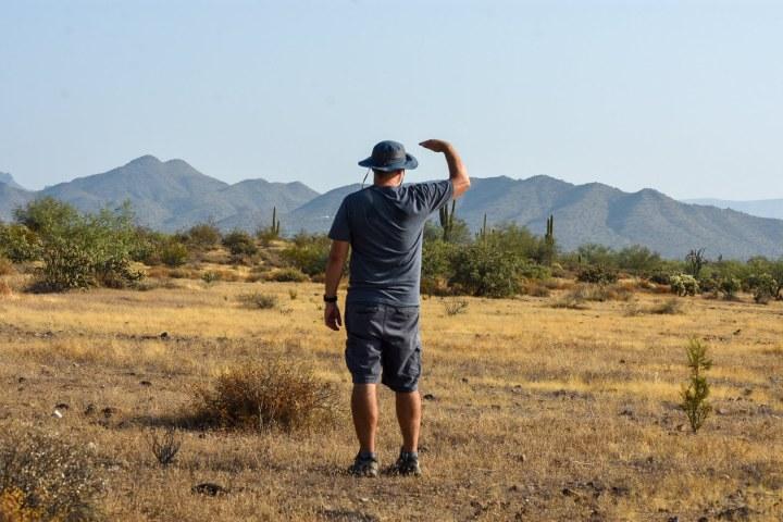 Old Man Hiking Rusty Ward