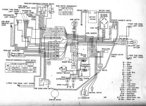 small resolution of honda cb 450 wire diagram free vehicle wiring diagrams u2022 cb nighthawk bobber cb450 bobber