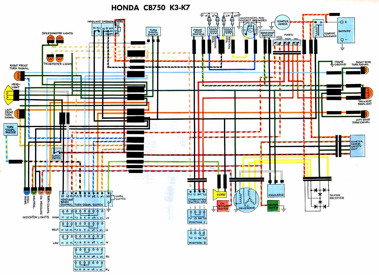 1972 cb450 wiring diagram 2001 honda prelude speaker 1970 cb 750 k0 100 amp sub panel