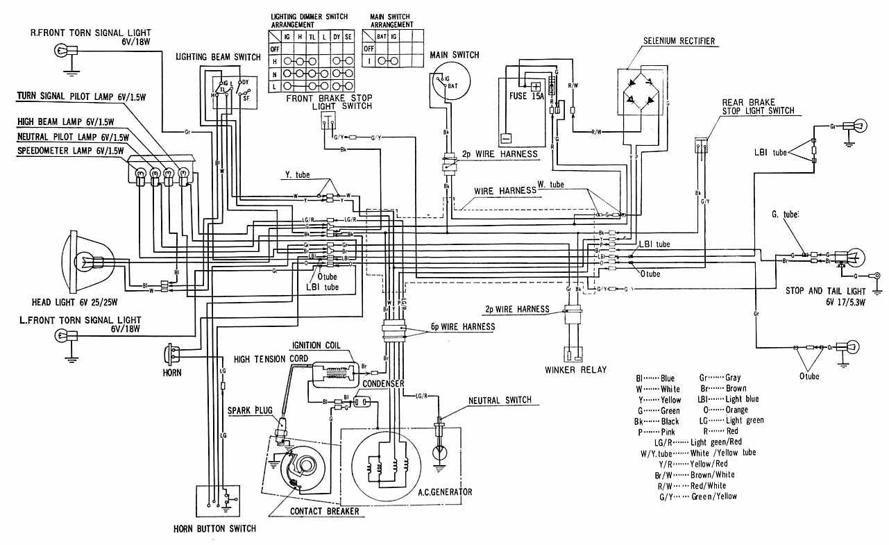 1977 ct70 wiring diagram 1999 mustang gt stereo honda ct90 battery | get free image about