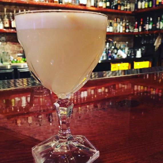 pisco sour at omaha berry and rye