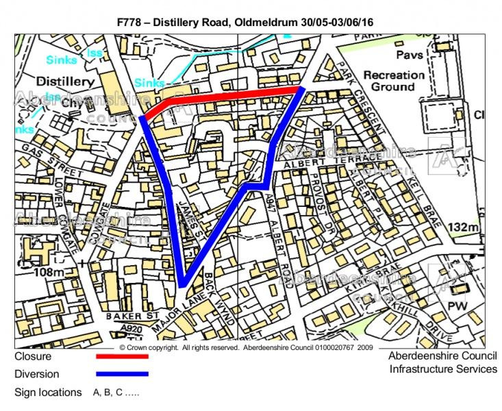F778 - Distillery Road Oldmeldrum Plan