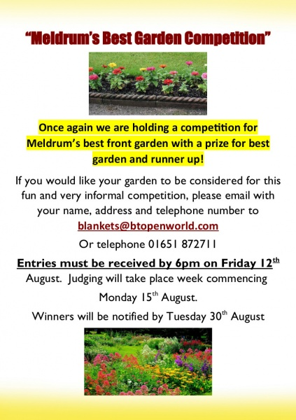 Front gardens comp. poster