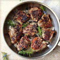 Rosemary Crusted Lamb Chops Recipe  Dishmaps