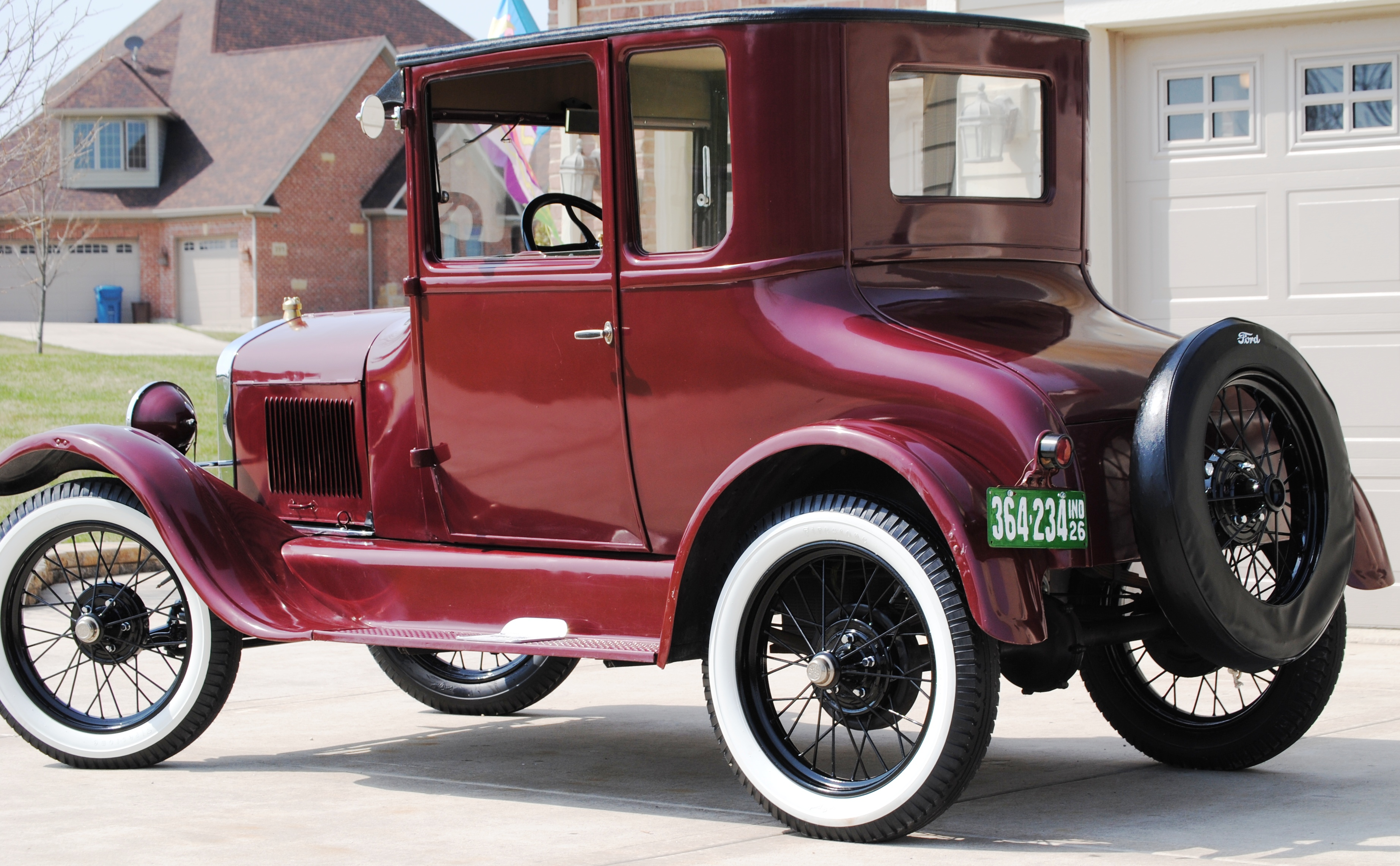 1925 model t ford wiring diagram water pump 3 phase diagrams best library 1926 coupe u2018pinky u2019 oldmotorsguy com a headlight
