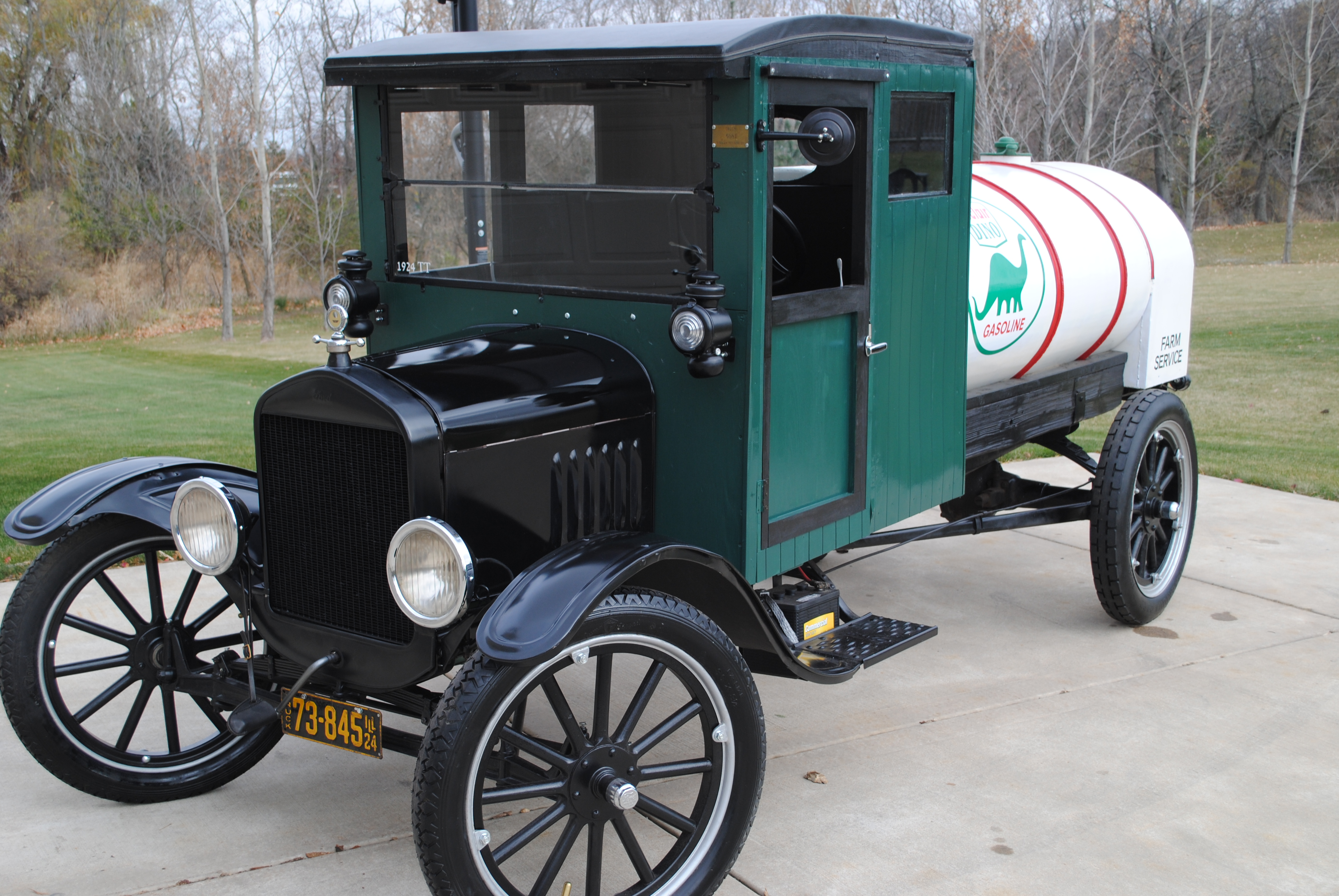 1924 ford model t wiring diagram kenmore elite dryer tt  one ton tanker truck sold