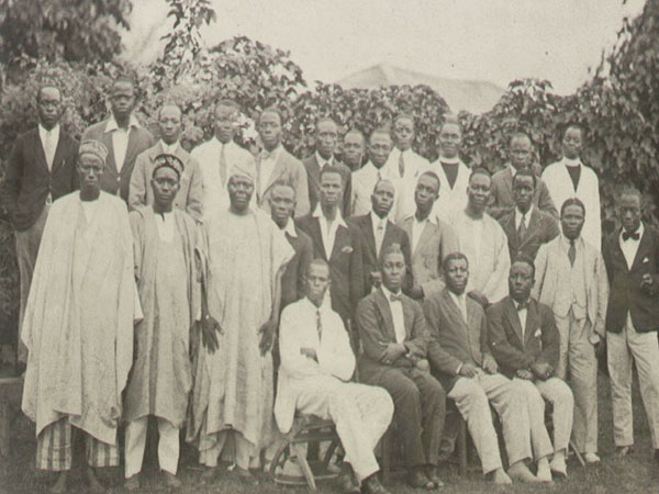 Members of West African Sudents' Union (WASU)