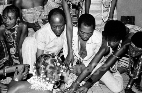 Fela's marriage with 27 women