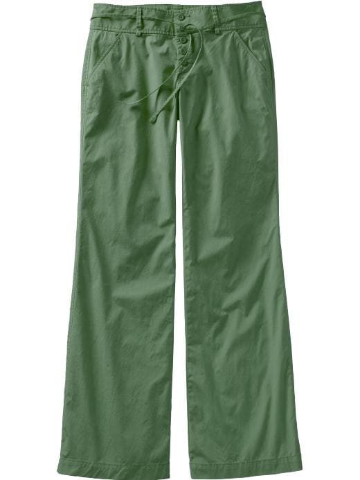 Old Navy wide leg button front pants