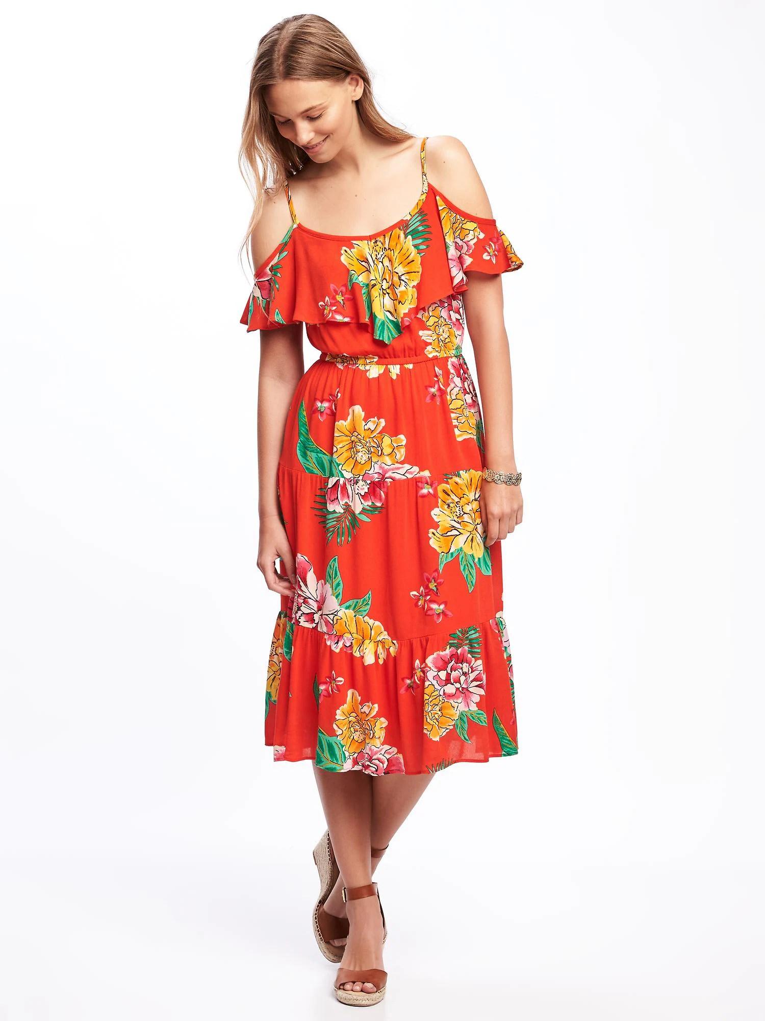 5aa220abe955 Crochet-Trim Swing Dress (in Creme De La Creme)