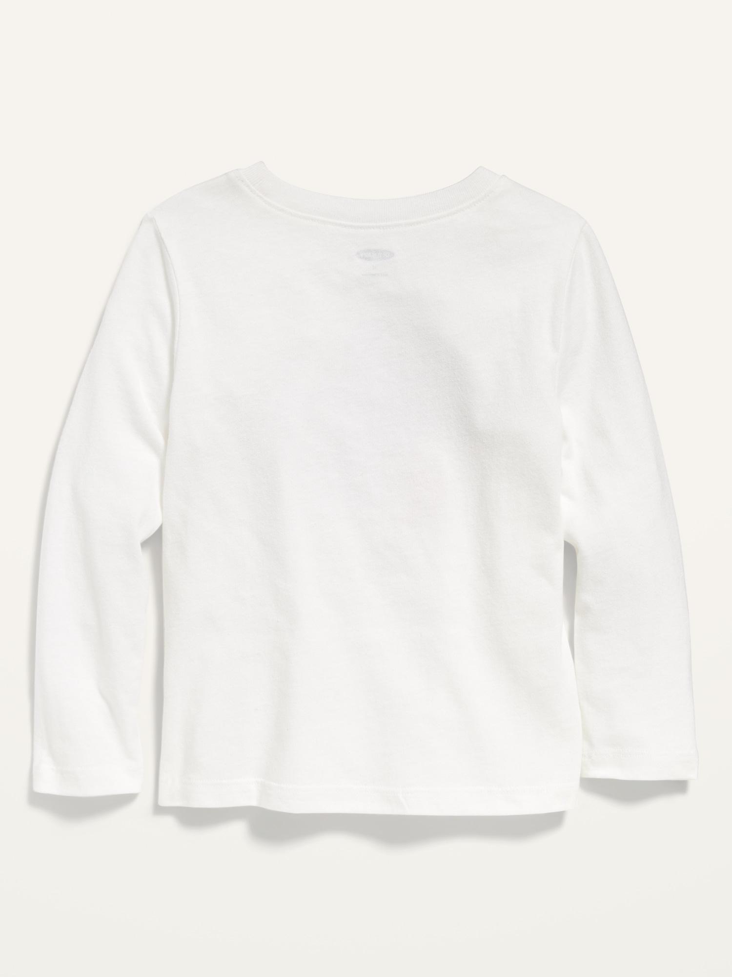 Unisex Valentine-Graphic Long-Sleeve Crew-Neck Tee for