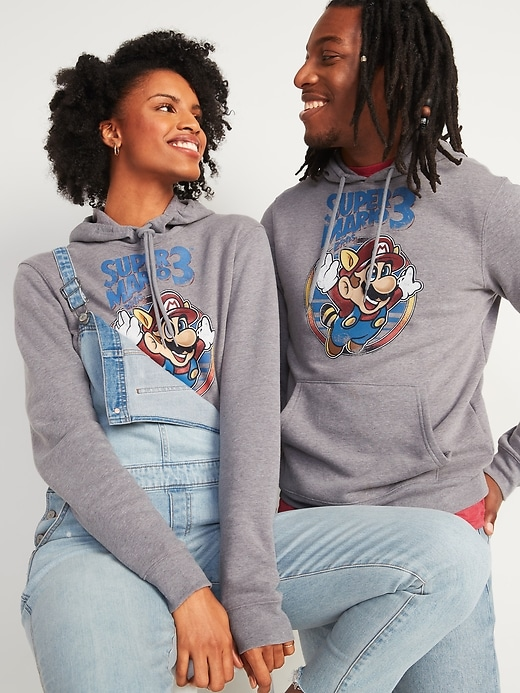 Super Mario Bros. 3&#153 Gender-Neutral Pullover Hoodie for Men & Women