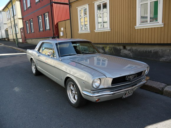 1966 Ford Mustang Notchback coupe pony car