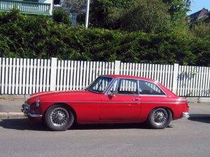 1969 MG MGB GT pininfarina