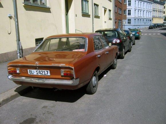 1971 Opel Rekord C