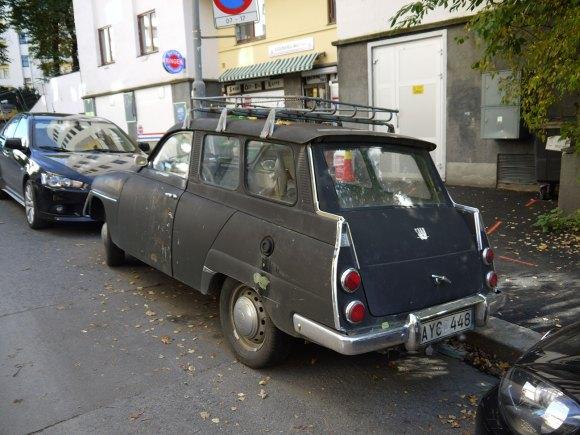 1965 Saab 95 station wagon